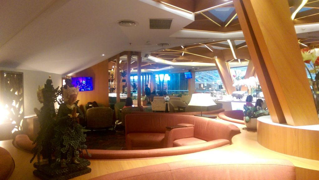 Business Class Lounge in Bali Denpasar Airport