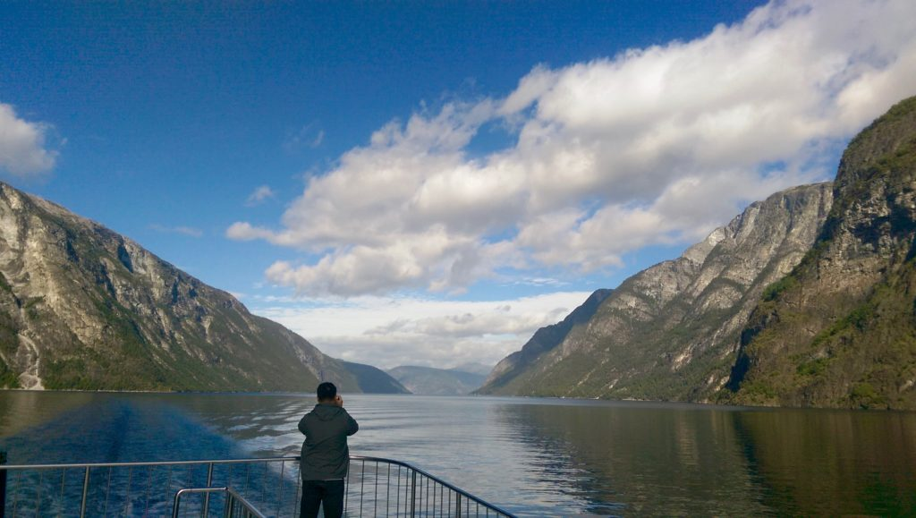 Experiencing a fjord - thank god I came here!