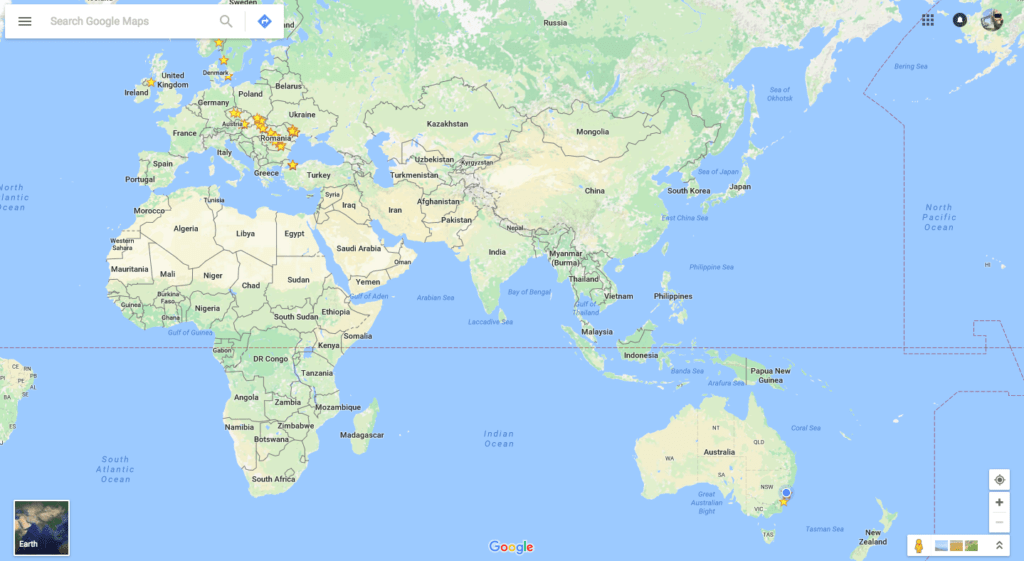 Google Maps for Travel