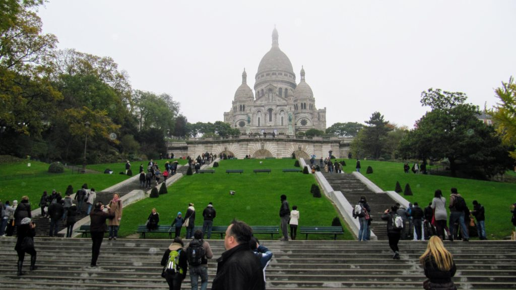 Paris 2012 - too many tourists EVERYWHERE!