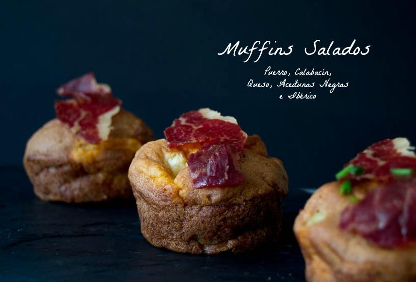 Muffins salados sin gluten y sin lactosa
