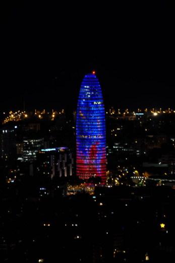 Búnkers del Carmel. Barcelona 360º y un sencillo picnic Torre Agbar