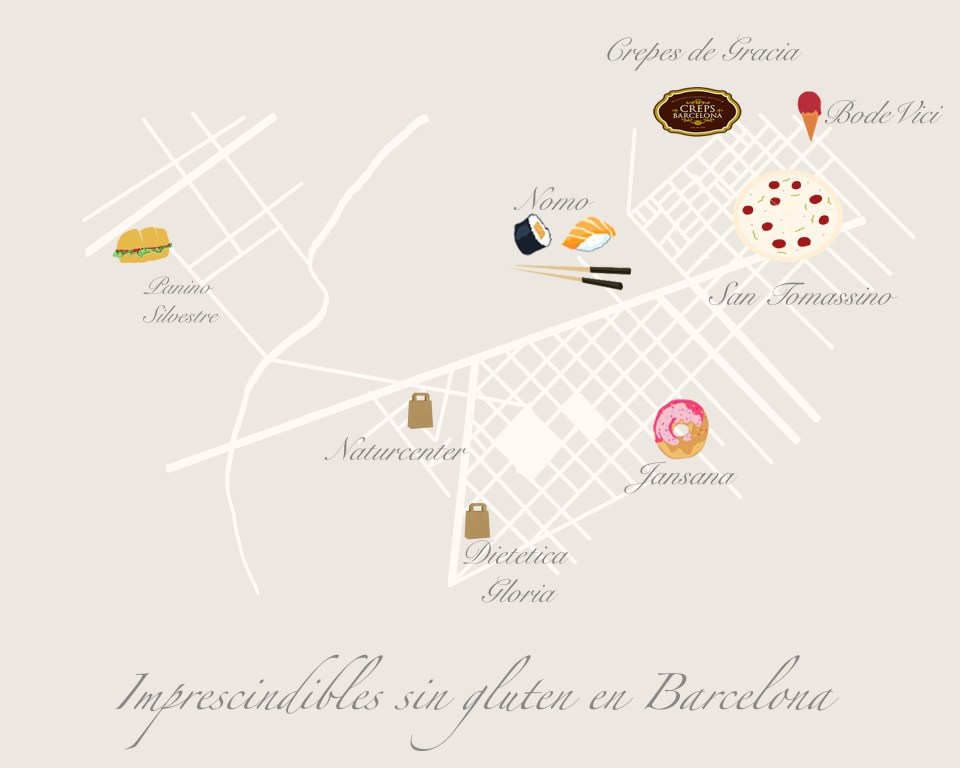8 Imprescindibles sin gluten en Barcelona