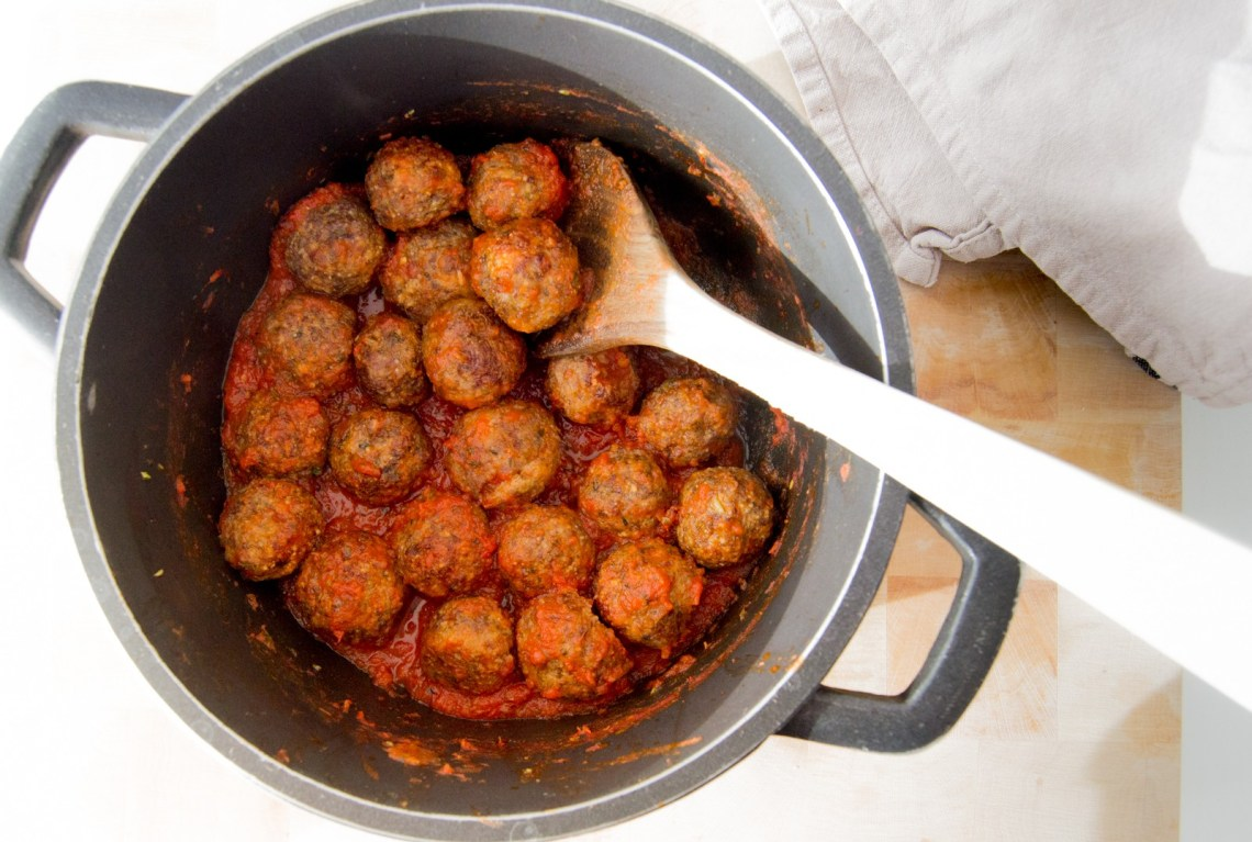 Mi receta de albóndigas caseras sin gluten @mrandmslemon_ #glutenfreemeatballs