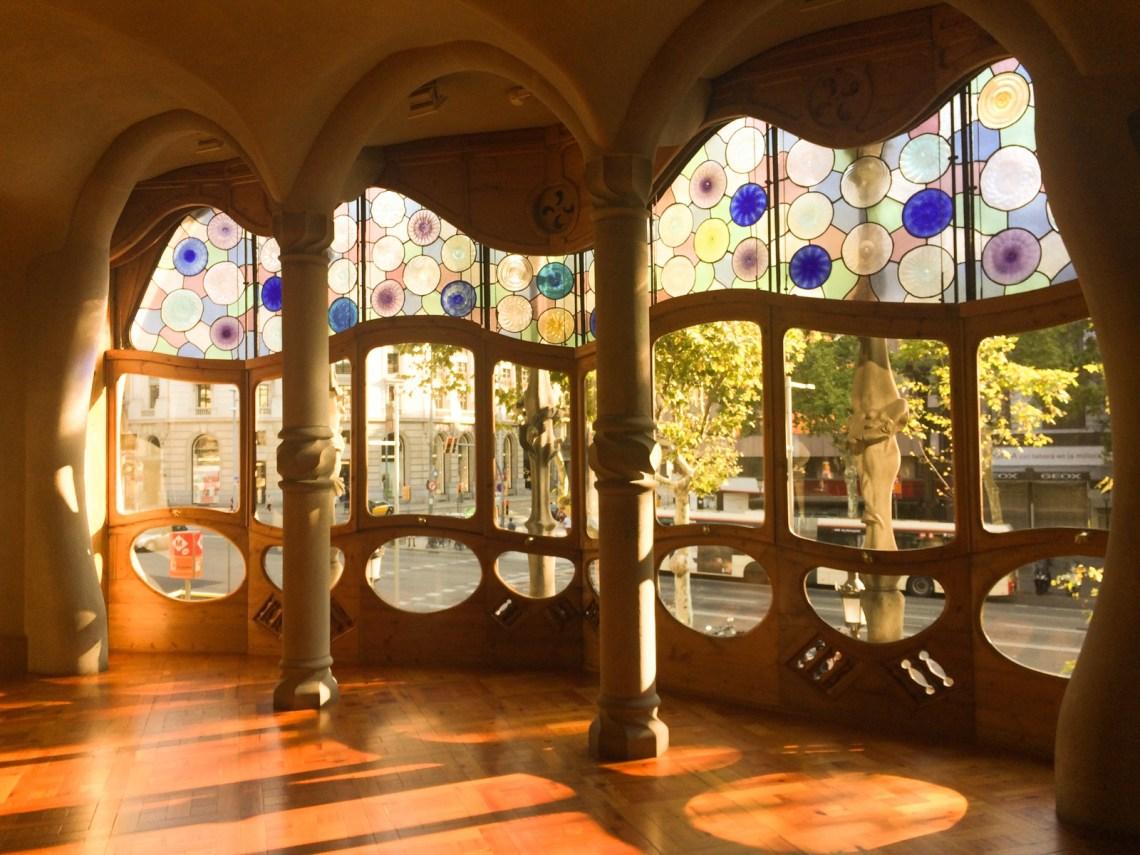 La Casa Batlló de Antoni Gaudí en Barcelona Mrandmslemon.com 22