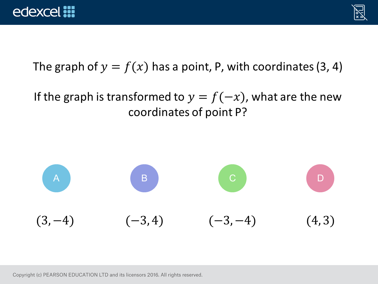 Transforming Functions Gcse Maths Question Of The Week