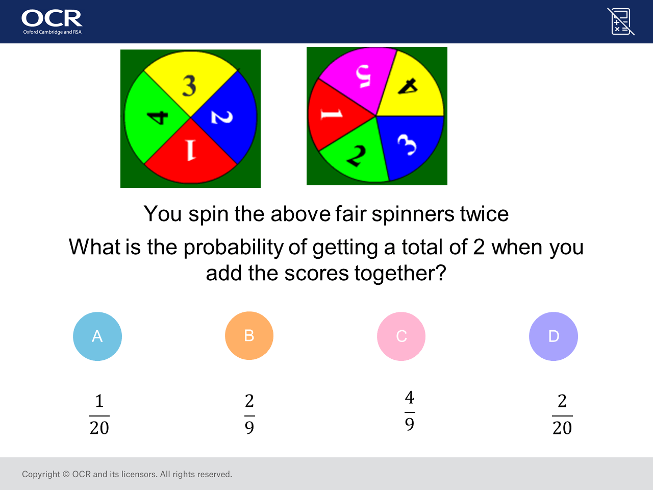 Probability Of Combined Events Higher Gcse Maths