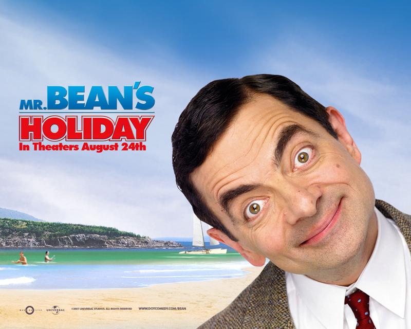 Mr Bean's Holiday Wallpaper - At The Beach