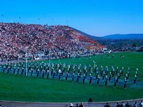 The Blue Band at Beaver Stadium, 1964