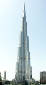 WOrld's largest tower Burj Khalifa Dubai