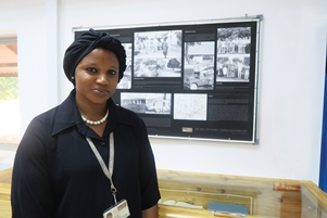 Isatou Manneh shaping the Library Management System