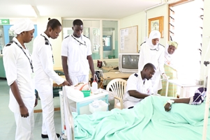 Clinical Services staff providing primary healthcare
