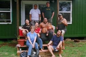 Kupa'aina: Kalama'ula Homestead Back porch 2009. By Christina Aiu.