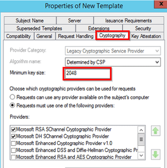 Create a certificate template from a server 2012 r2 ca mrchiyo and confirm that the selected server application policies description server authentication in my case is sufficientis is based on the template yelopaper