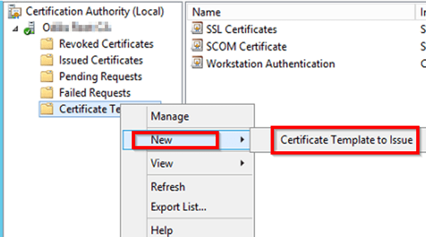 Create a certificate template from a server 2012 r2 ca mrchiyo in the enable certificate templates windows select your newly created template and click ok yelopaper Image collections