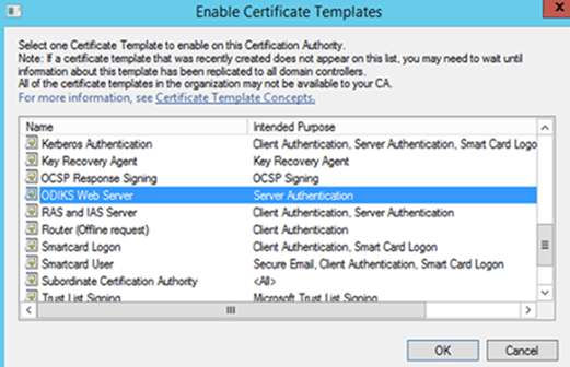 Create a certificate template from a server 2012 r2 ca mrchiyo this now makes the newly created template available for use yelopaper Image collections