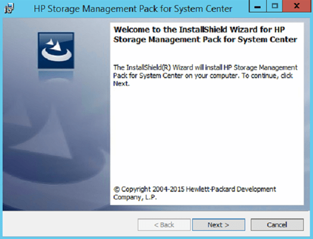 Installing and Configuring HP Storage Management Pack v4 2 1