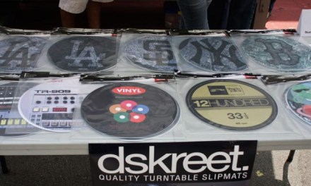 High Quality Dj Slipmats just dropped from Dskreet