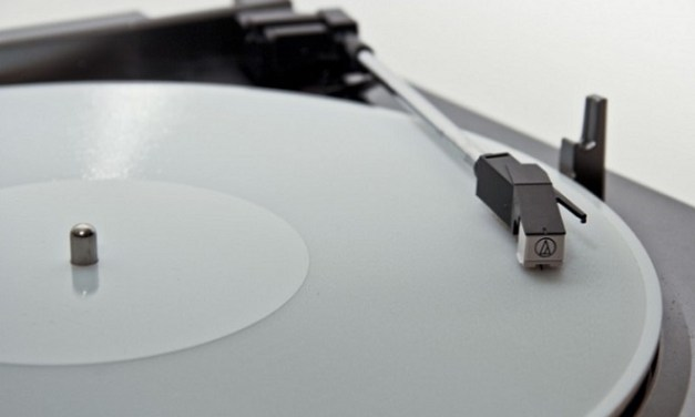Digital audio files converted into 3D-printable records