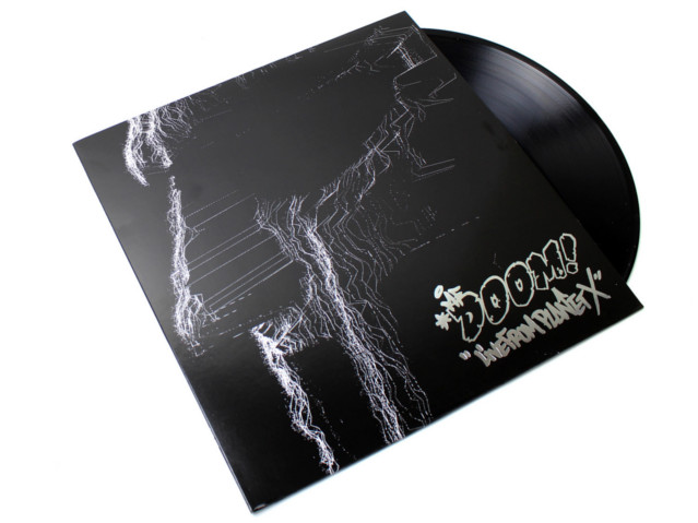 MF DOOM Live From Planet X  (LP)