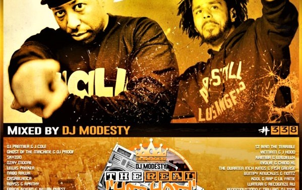 DJ Modesty – THE REAL HIP HOP SHOW N°338