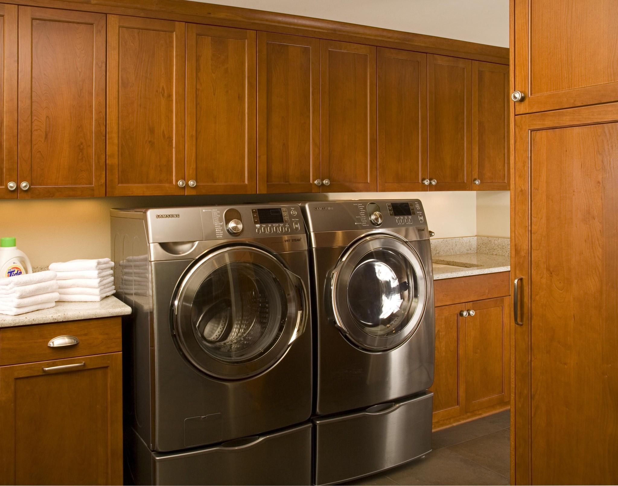 Laundry Room | M.R. Construction | Tacoma, WA