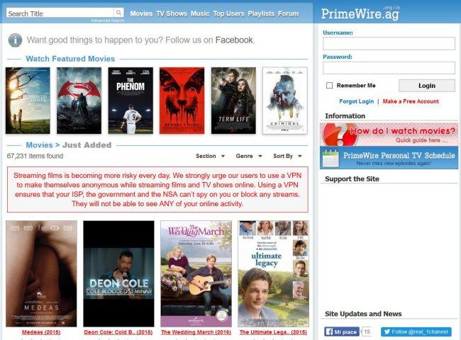 MOVIES PROXY/MIRROR SITES TO UNBLOCK PRIMEWIRE | MrDhukkad com
