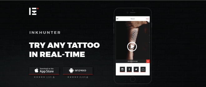 FREE DOWNLOAD INK HUNTER FOR ANDROID TO SELECT YOUR FAVORITE TATTOO DESIGN