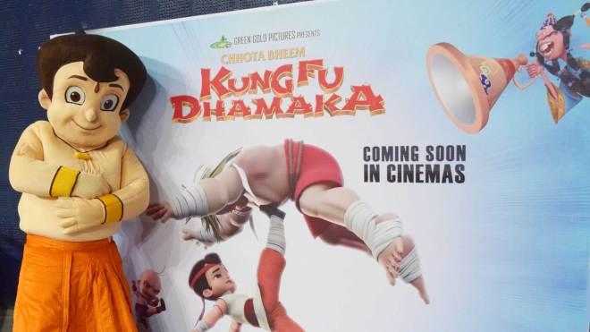 CHHOTA BHEEM KUNG FU DHAMAKA TRAILER POSTER RELEASE DATE