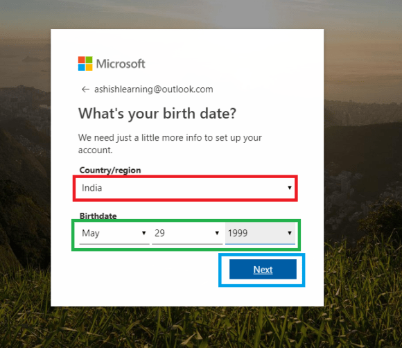 HOW TO CREATE HOTMAIL/OUTLOOK EMAIL ACCOUNT