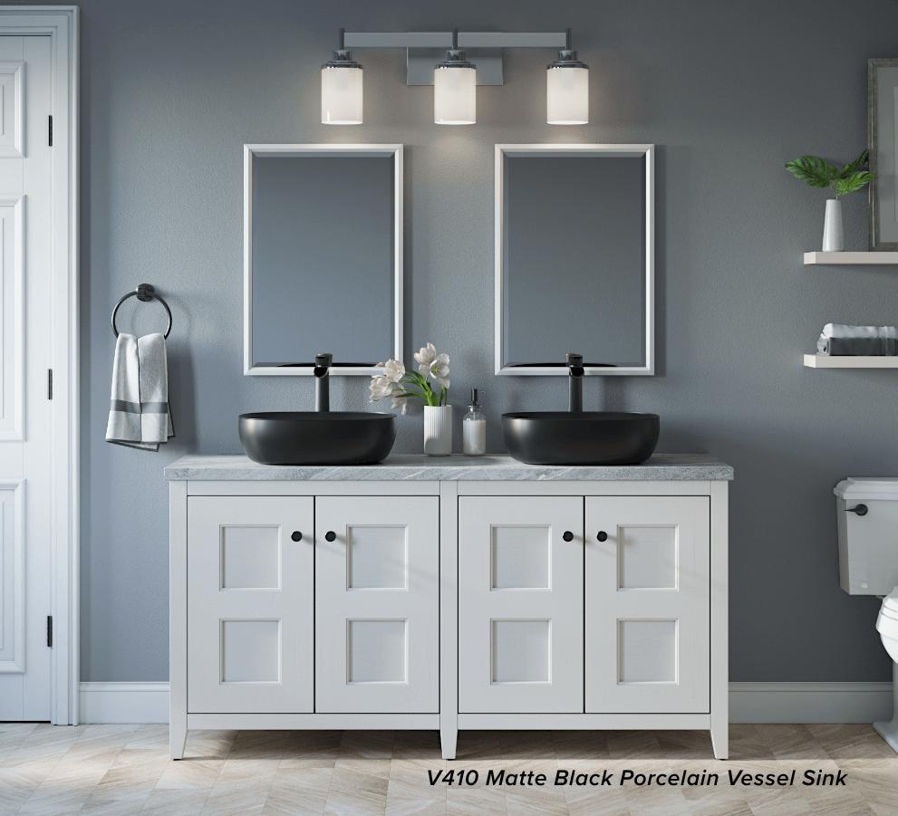 top 4 high style vessel bathroom sinks