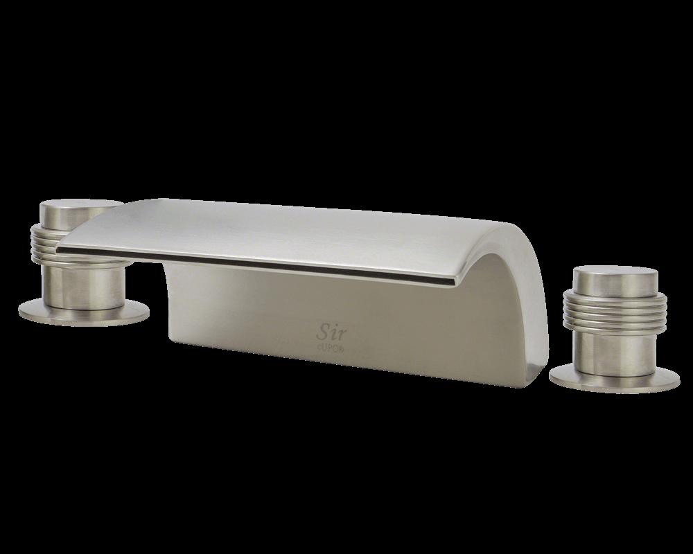 719 bn brushed nickel roman tub faucet set
