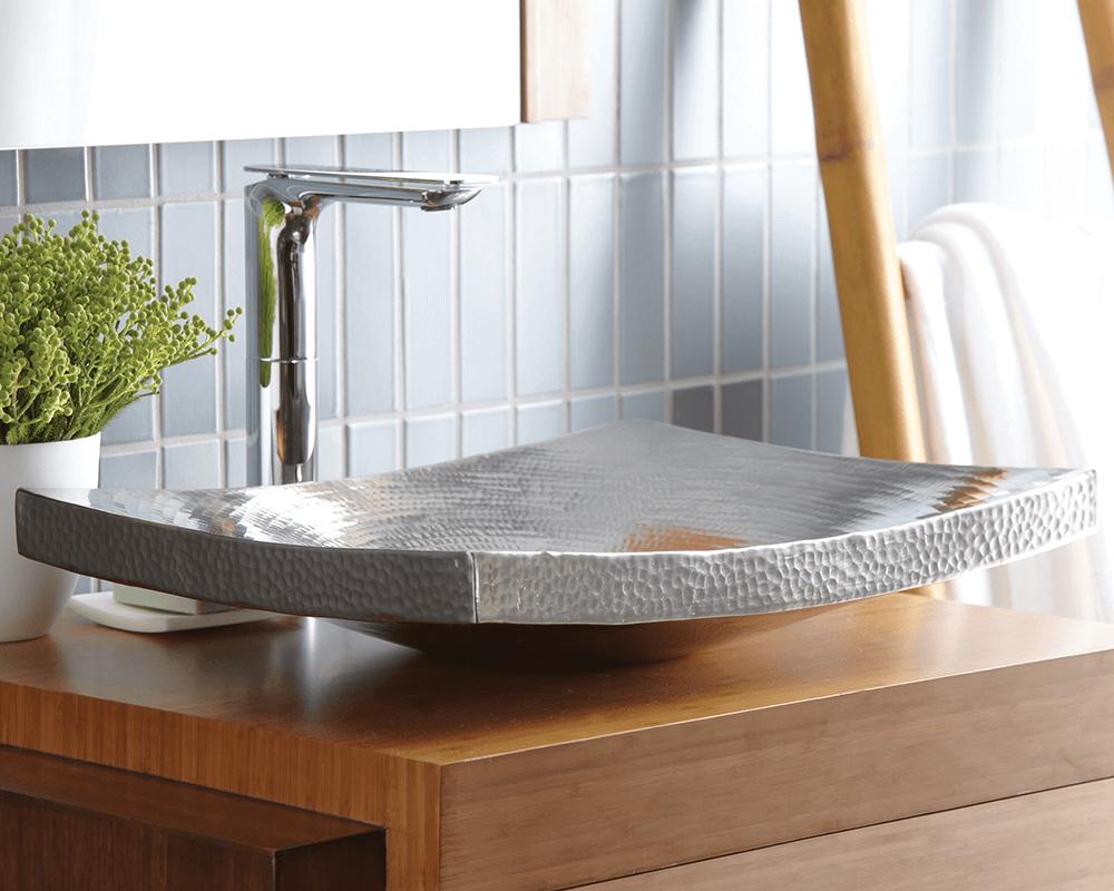 cps557 kohani bathroom sink in brushed nickel