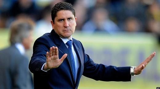 تعيين الاسباني غاريدو رسميا مدربا جديدا للوداد الرياضي خلفا للفرنسي دوسابر