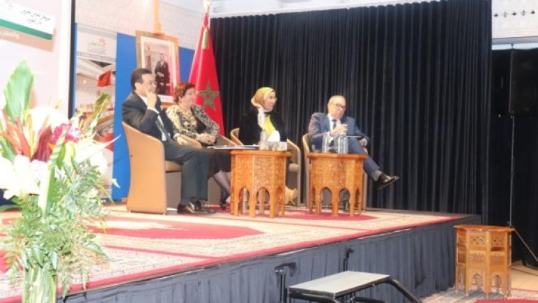 السيدة الوافي تعقد لقاءا مع الجالية المغربية بمونريال