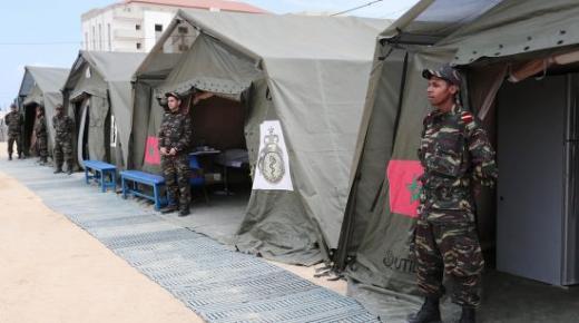 ما يروج حول إحداث مستشفى عسكري ميداني ببنسليمان لاستقبال المغاربة القادمين من إيطاليا لا أساس له من الصحة