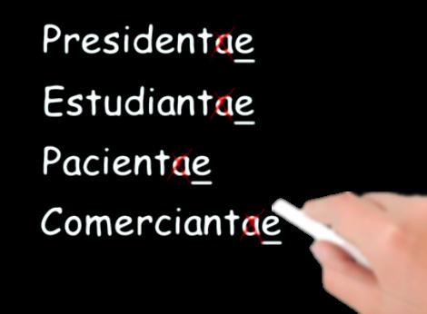Se dice presidente y no presidenta