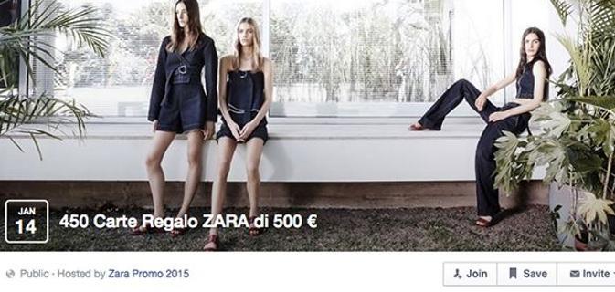 "IMG 20150201 1808482 - Vinci 500 euro da spendere da zara ""ATTENTI E' UNA TRUFFA"""