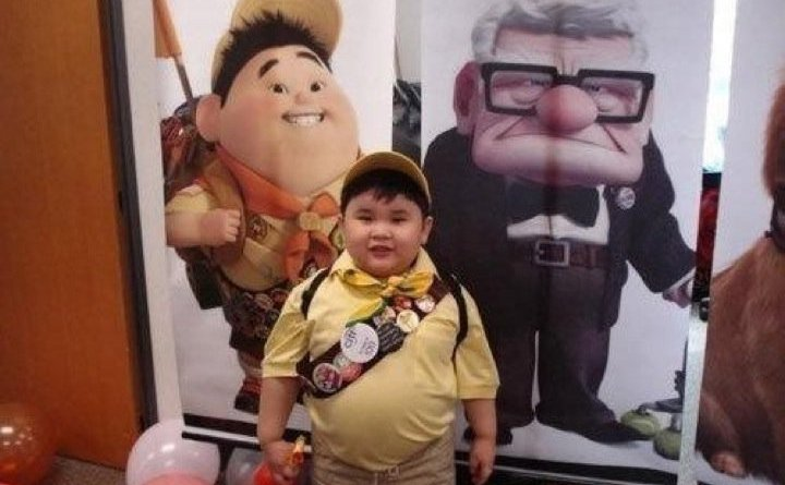 Russell from Up - Se i personaggi animati fossero reali