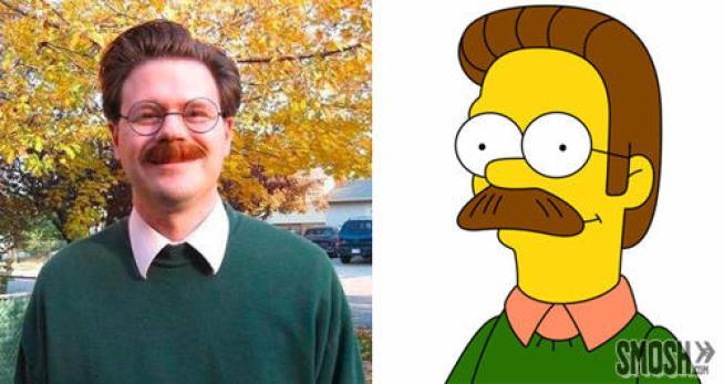 immagine30 - Come sarebbero i Simpson nella vita reale