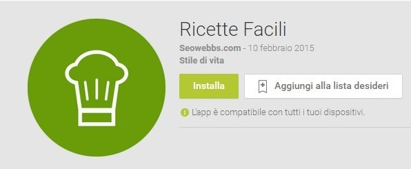 superthumb1 - Play store: Cucina con Android