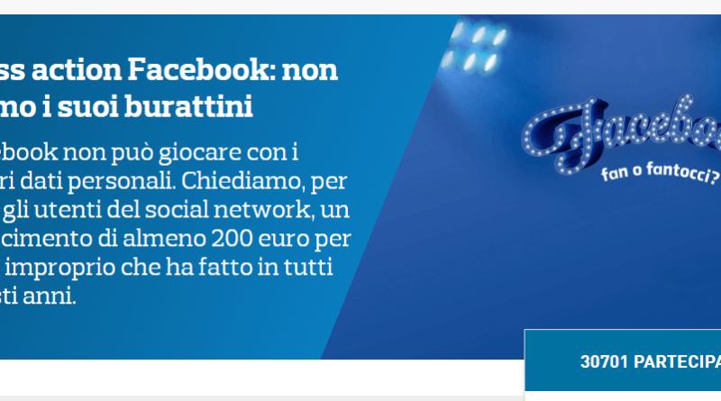 Screenshot 6 - Risarcimento di 200€ per gli utenti Facebook: Ecco come e perche.