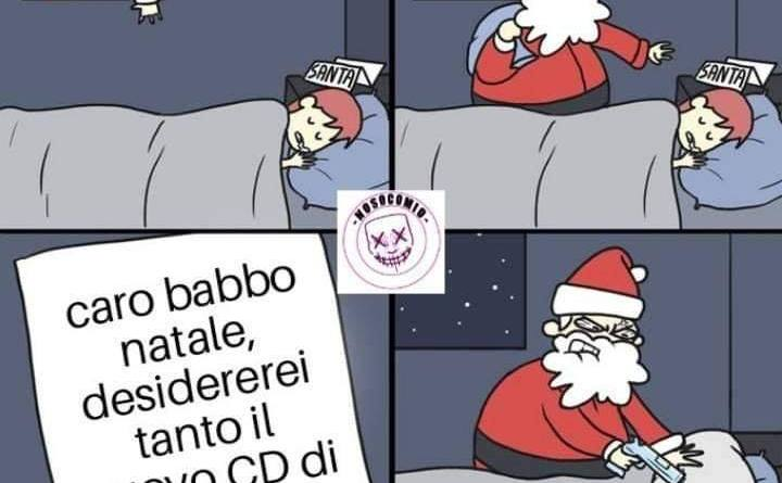 Babbo Natale - Gusti musicali EBBASTA