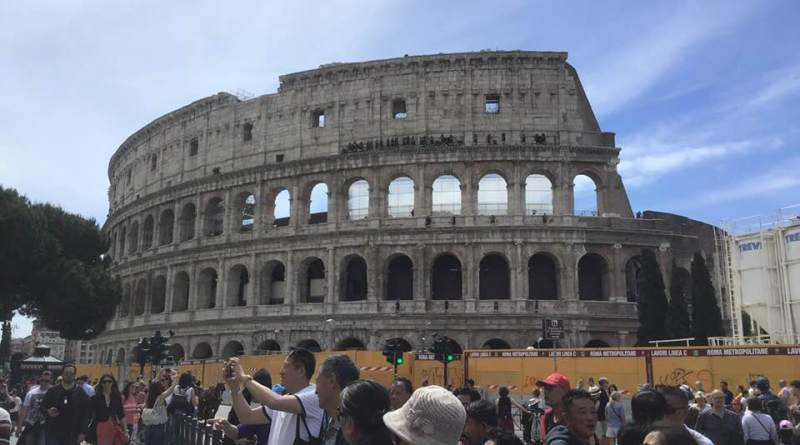 colosseo - Tecniche di Parcheggio a Roma