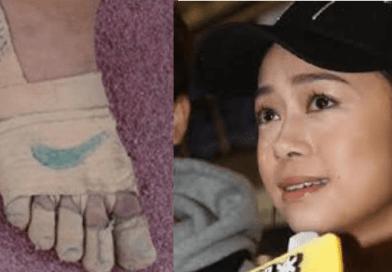 Rhea 11 anni, corre senza scarpe