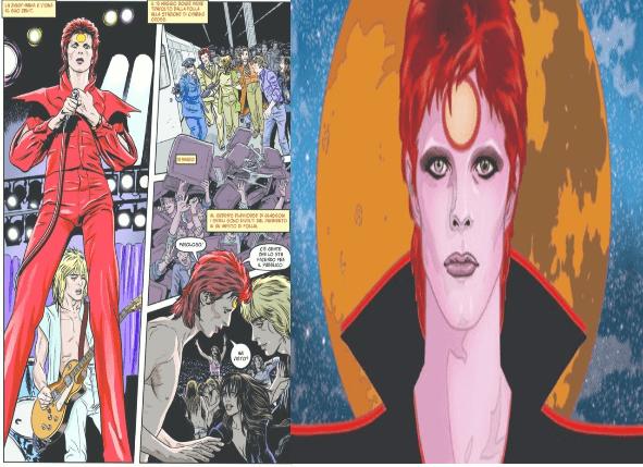 Bowie a Fumetti