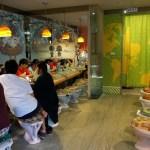 modern toilet restaurant in Taipei - toilet seats