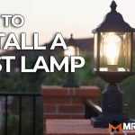 How To Install A Post Lamp Diy Home Improvement Tutorial Mr Fix It Diy