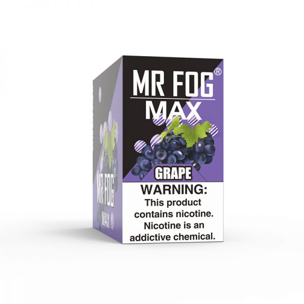 MR FOG MAX Grape bubble gum