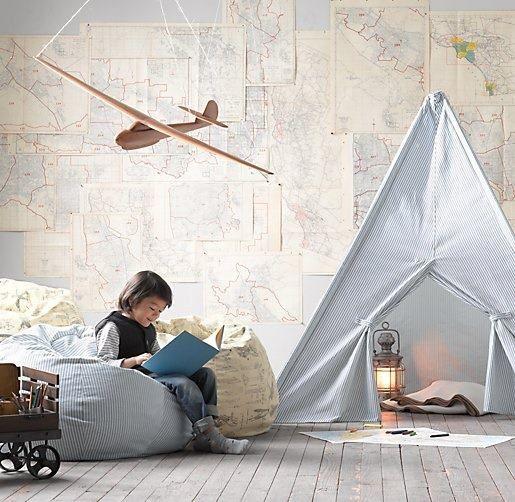 MrFox-teepee-bedroom